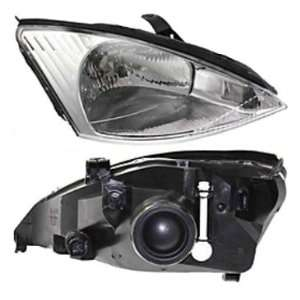 FORD FOCUS HEADLIGHT RIGHT (PASSENGER SIDE)WITHOUT HID,CHR
