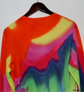 NWT $298 Ralph Lauren RLX Pima Cotton Tye Dye Shirt XL