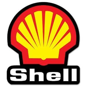 SHELL RACING motorsport car styling sticker 4 x 5