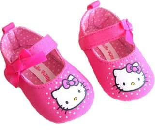 NEW Hello Kitty with Ribbon Bow Shoes for Babies