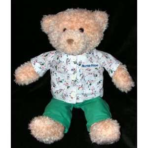 HEADS & TALES GUND 16 Plush Teddy Bear NURSE HOPE