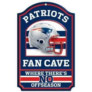 NFL New England Patriots Sign   Fan Cave