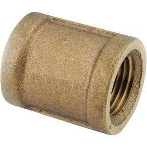Anderson Metals Corp 3/8 Brs Coupling 738103 06 Brass