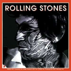 THE ROLLING STONES KEITH STICKER