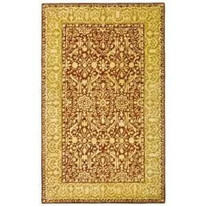 Safavieh SKR213G Silk Road Area Rug, Maroon