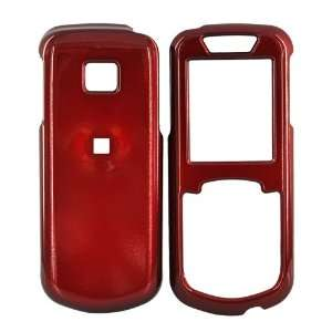 for Samsung Stunt R100 Hard Case Cover Skin Solid Red
