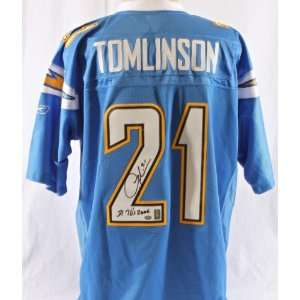 Ladainian Tomlinson Signed San Diego Chargers Jersey w/ 31 TDs 2006