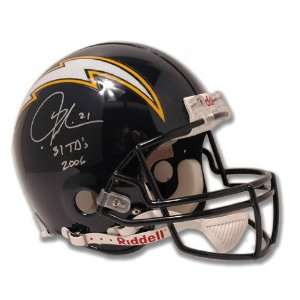 LaDainian Tomlinson San Diego Chargers Autographed Full Size Pro Line