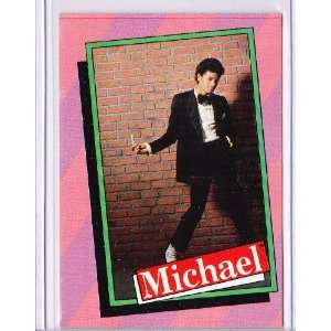 Michael Jackson 1984 Topps Trading Card #12  Sports