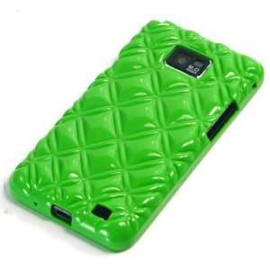 Total 9 Colors] Green / Samsung Galaxy SII / S2 / i9100 Plastic Back