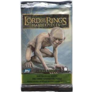 Lord of the Rings Masterpieces Trading Cards(pack of 7