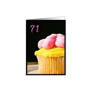Happy 71st Birthday Muffin Card Toys & Games