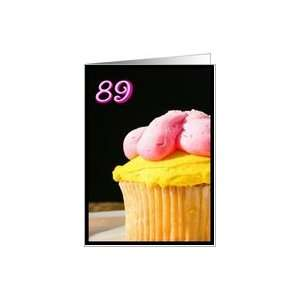 Happy 89th Birthday Muffin Card Toys & Games