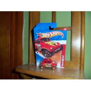 Hot Wheels Baja Beetle Thrill Racers 2011 Red Everything