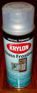 KRYLON GLASS FROSTING FROSTED SPRAY PAINT SHADING NEW 075577008100