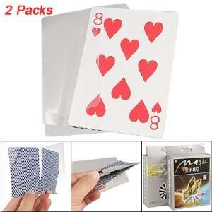Como 2 Packs Bill Slasher Poker Card Game Magic Trick Props for Party