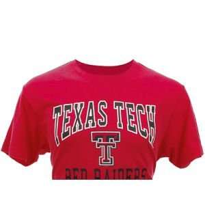 Red Raiders Colosseum NCAA Contender Slub T Shirt