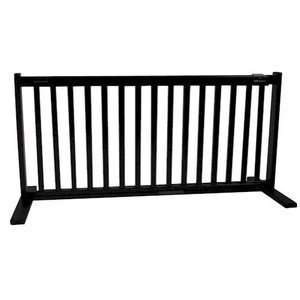 Pet Products 42400 Large Free Standing Pet Gate   Black