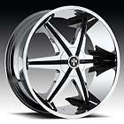 24 x9.5 Dub Big Homie W/O Rivet Chrome 5 Lug Wheel Rims