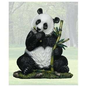 Panda Bear Ceramic Figurine Ling Ling 10.6 inches high