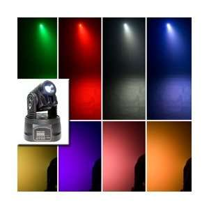 Quad Color LED Moving Yoke Fixture (Standard) Musical Instruments