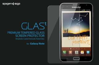 SGP Samsung Galaxy Note Screen Protector GLAS.t Premium Tempered Glass