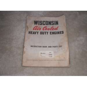 wisconsin air cooled heavy duty engines TH, THD, TJD instruction book