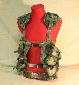 US Army USMC MOLLE LOAD VEST Tactical ENHANCED w/M BELT