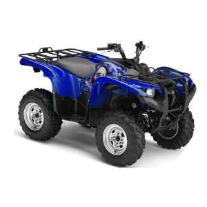 AMR Racing Yamaha Grizzly 700 ATV Quad Graphic Kit   Bone