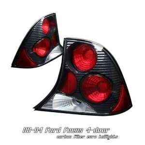 FORD FOCUS 4DR SEDAN SE LX CARBON FIBER STYLE ALTEZZA TAIL LIGHT LAMPS