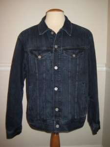 LUCKY BRAND Heavy Weight Lined Denim Jean Jacket 2XL