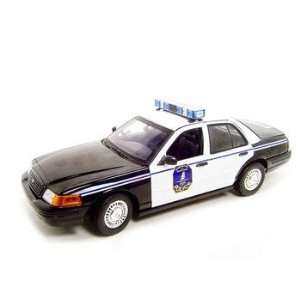 Police Car Ford Crown Victoria 118 Diecast Model Toys & Games