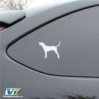 Redbone Coonhound Dog Vinyl Decal Sticker Car Window Wall
