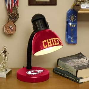 NFL Kansas City Chiefs Football Desk Lamp