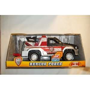 Tonka Red Rescue Force tow Truck   Towing Rescue Force truck   tow