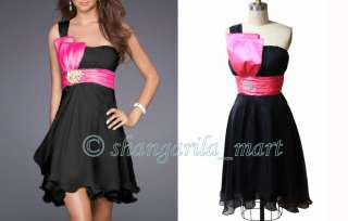 bright pink bow tie black dress contrasting colors bright pink bow