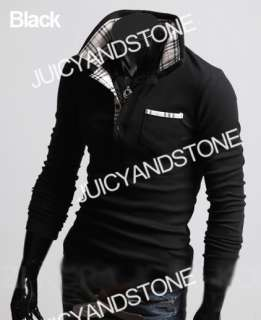 New Mens Fashion Designed Casual Shirts 3 Color C127