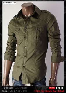 DOUBLJU Mens Casual Best Dress Shirts Collection 3