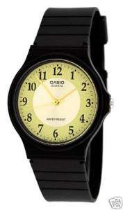 CASIO MQ24 9B3 MENS CLASSIC ANALOG CASUAL DRESS WATCH RESIN BAND MQ 24