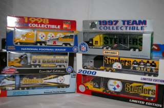 PITTSBURGH STEELERS Die cast Truck Trailer Collectibles 1998 TO 2000