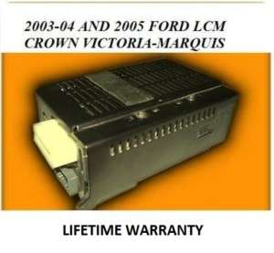 2003 FORD CROWN VICTORIA LCM LIGHT CONTROL MODULE 03