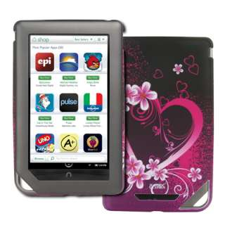 EMPIRE for  Nook Color Hearts Hard Stealth Case+Screen