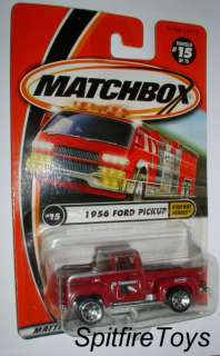 MATCHBOX #15 1956 56 FORD PICKUP TRUCK HEAVY LOW S&H 035995307827