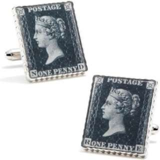 Penny Black 40 Replica Stamp Cufflinks Cuff Links