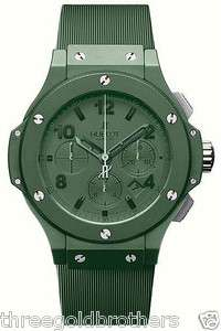 Hublot Big Bang All Green 44.5mm Chronograph