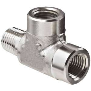 Brennan 5602 04 04 04 SS Stainless Steel Pipe Fitting, Tee