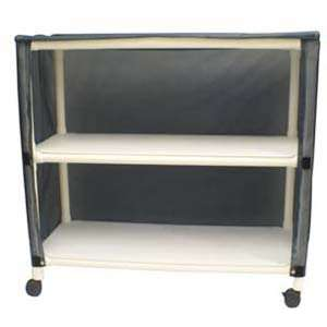 MJM International E345 2C Echo Linen Cart Health