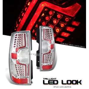 GMC 2007 2008 YUKON/DENALI CHROME TAIL LIGHT LAMP
