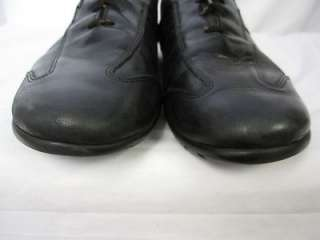 ALLEN EDMONDS MENS SHOES PEYTON BLACK LEATHER CASUAL LACE UP OXFORD SZ