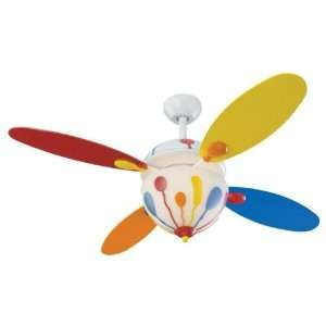 Monte Carlo Fans 4BN44WHD L Three Light White Ceiling Fan